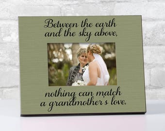 Gift for Grandmother Gift Idea Grandma Frame Gift for | Etsy