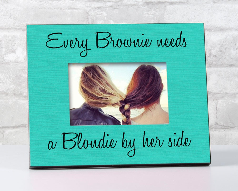 Brownie Blondie Friends Gift, Brownie Blondie Best Friend Frames ...
