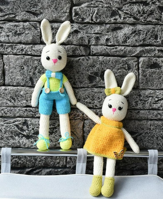 Bunny  Crochet Rabbit  Bunny for Children  Bunny toy  Easter Rabbit  Rabbit toy