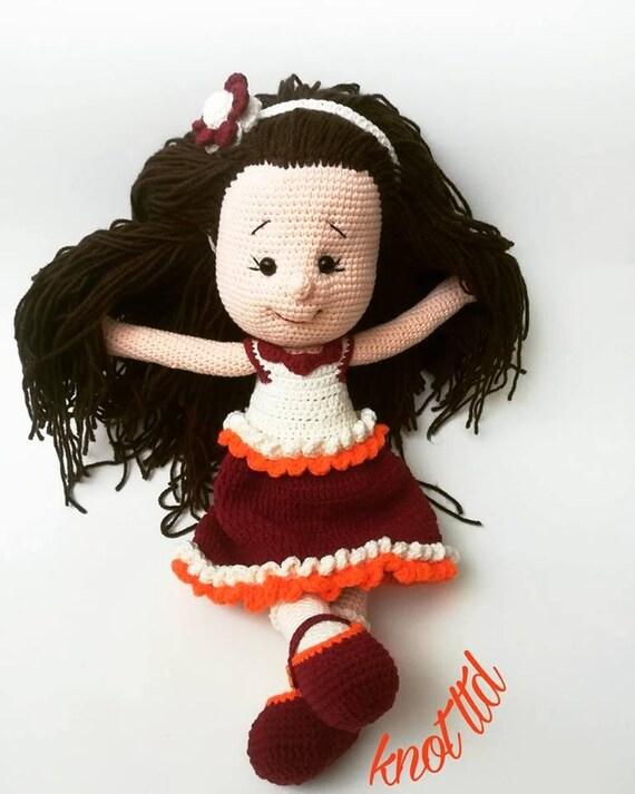 Crochet doll Amigurumi Dolly cute Doll Crochet Toy Rattle toy rattle doll  rattlerattle toys - AliExpress   713x570