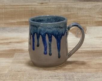 99b14642adb Blue coffee mug