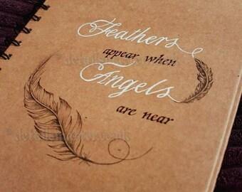 Hand Illustrated A5 Hardback Spiral Bound Notebook