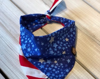 Red, White & Blue Bandana