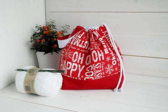 Drawstring Project Bag Peace