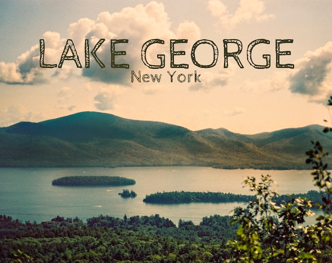 Lake George, NY POSTER - Mountains Design