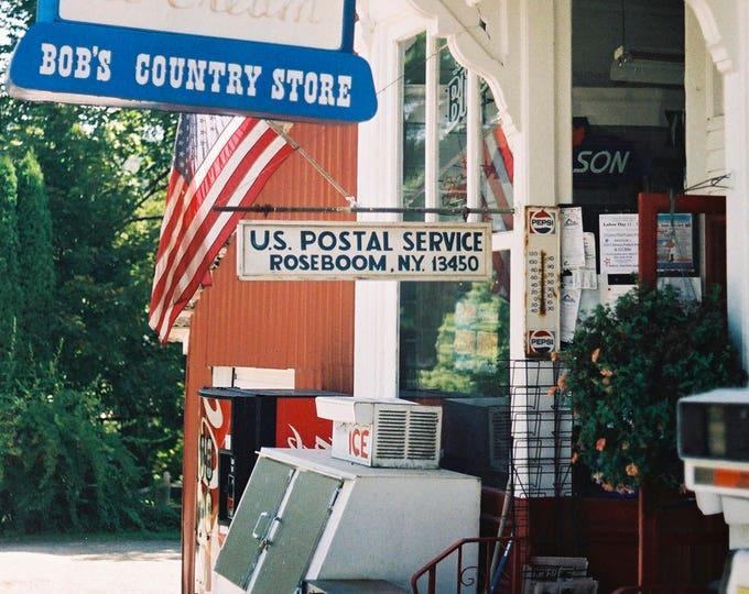 Bob's Stores, Roseboom, NY - Fine Art Photograph