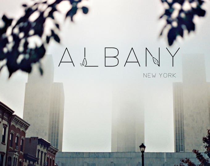 POSTCARD - Albany, New York - Empire State Plaza