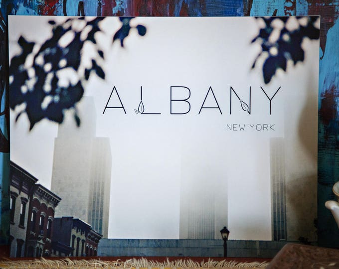 ALBANY, New York Poster