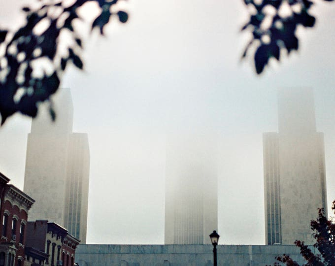 Albany in the Fog - Fine Art Photograph