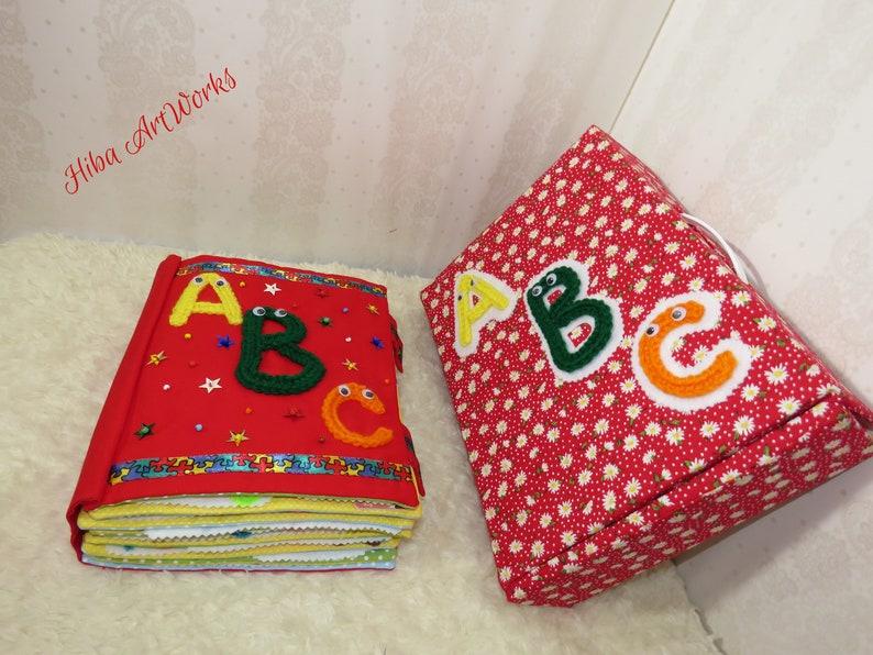 Alphabets Baby Handmade Felt Quiet Book
