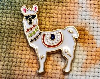 Cool Hipster Llama Alpaca Needle Minder