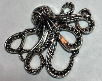 Silver Octopus Needle Minder