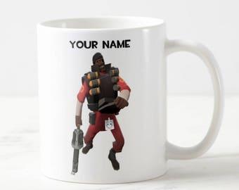 Personalised Team Fortress 2 Mug - TF2 Mug - Custom Mug - Funny Mug - Gift Mug - Gift For Him - Team Fortress 2 - TF2 - Custom Gift