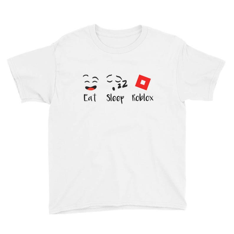 Roblox T Shirt Add Game Tag Roblox Shirt Roblox Tshirt Etsy