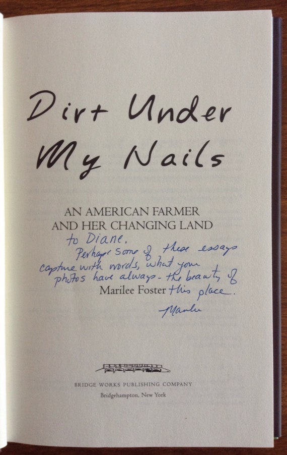 dirt under my nails foster marilee