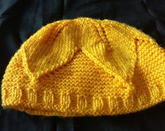Yellow Leaf Hat