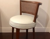 Rare Edward Wormley for Dunbar vanity chair- mid century modern