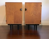 Finn Juhl for Baker mid century modern nightstands