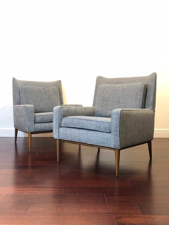 Miraculous Paul Mccobb Mid Century Modern Lounge Chairs Andrewgaddart Wooden Chair Designs For Living Room Andrewgaddartcom