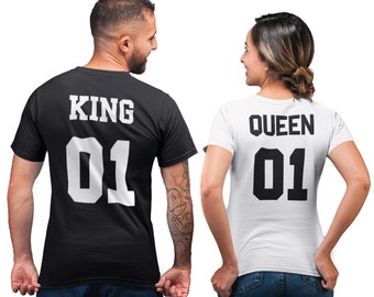 king and queen tröja