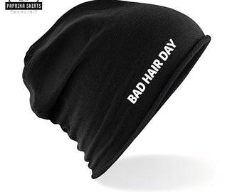 Stretchy Cuff Beanie Hat Black Skull Caps I Love My Beagle Winter Warm Knit Hats