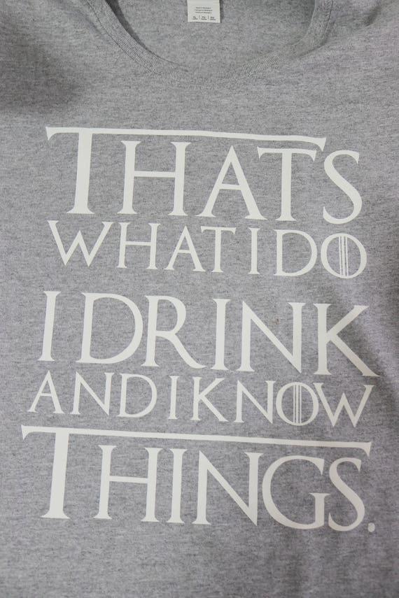 Ich Trinke Und Ich WeiГџ Dinge