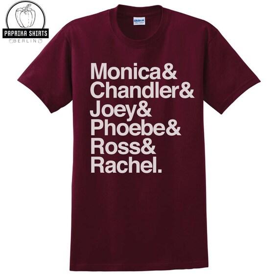 Amis Show chemise Show Amis TV amis tshirt unisexe t-shirt homme chemise t Tumblr Tee chemise cadeau d'anniversaire monica joey chandler Rachel ross 84c2cb