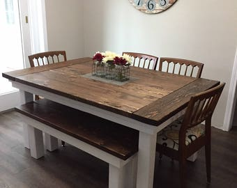 farmhouse table - Farmhouse Kitchen Table