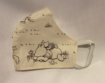 ORIGINAL WINNIE Print -  Reusable and Washable Fabric Face Mask
