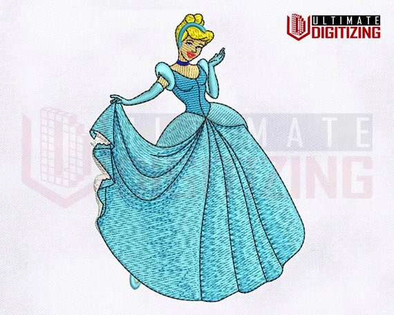 Hermosa Princesa Cenicienta Cross Stitch Kit