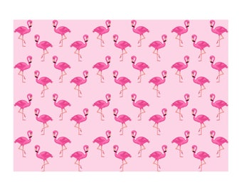 Unique High Quality Pink Flamingo Gift Wrapping Paper-Size A3 - GP89