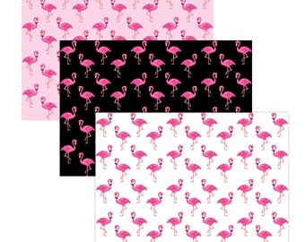 Unique High Quality Mixed Flamingo Gift Wrapping Paper 3 Sheets-Size A3