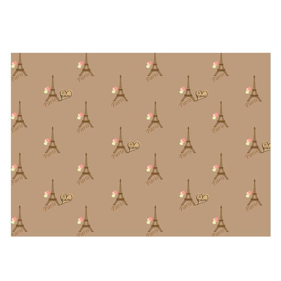 GP-126 Unique High Quality Art Deco Design Gift Wrapping Paper-Size A3