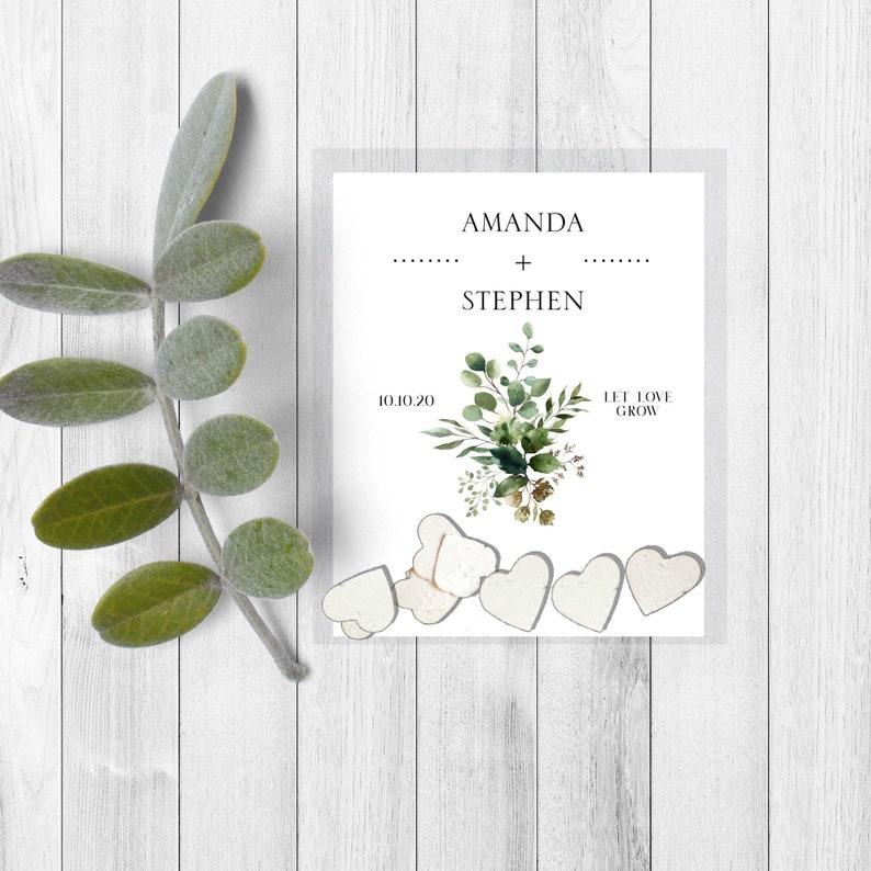 wedding favors-Plantable wedding favor-wedding favours-seed favors-wedding seed paper favors-seed wedding favours-seed bomb-seed paper-plant