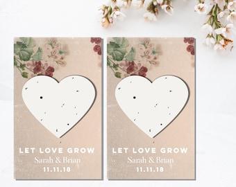 Plantable wedding favor-wedding favours-wedding favors-seed favors-wedding seed paper favors-seed wedding favours-seed bomb-seed paper-plant