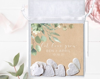 Custom seed packets-wedding favors-party favors-bridal shower favors-eco-friendly wedding-favors-wedding favours-Plantable wedding favors