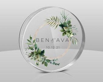 Personalised acrylic coasters-custom wedding favors-clear coasters-wedding coasters-coasters-clear acrylic wedding coasters-wedding favors