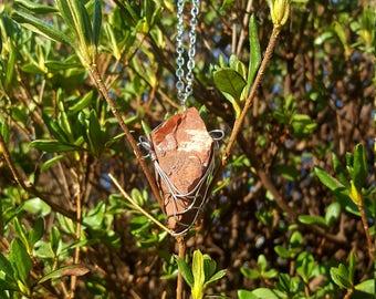 Brecciated Jasper Pendant/Pendulum/Necklace