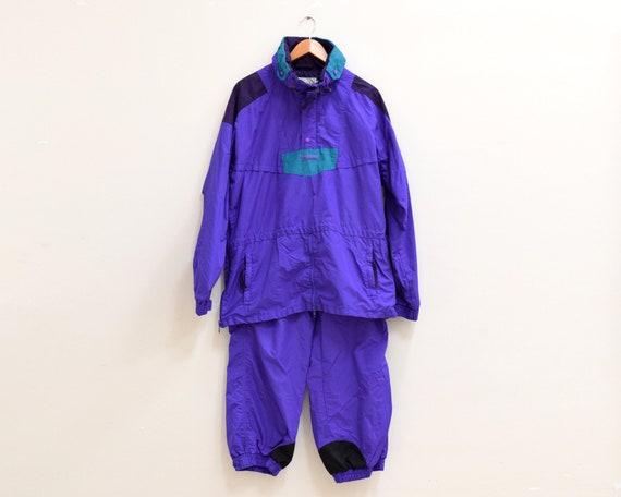 Vintage Set of Columbia Jacket and Purple Windbrea