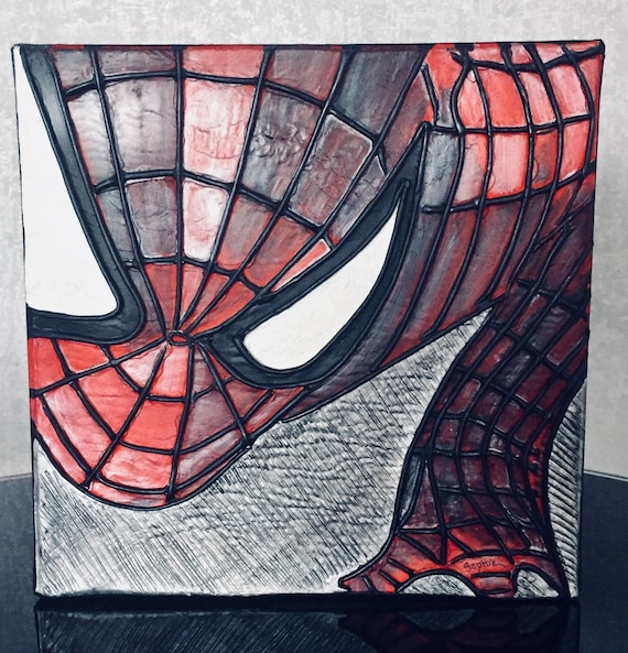 Spiderman 3d Table Etsy