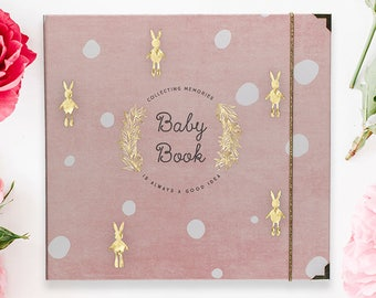 baby keepsake book etsy