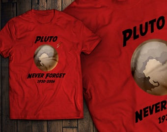 73c117f53 Funny Never Forget Pluto 1930-2006 Science T-Shirt