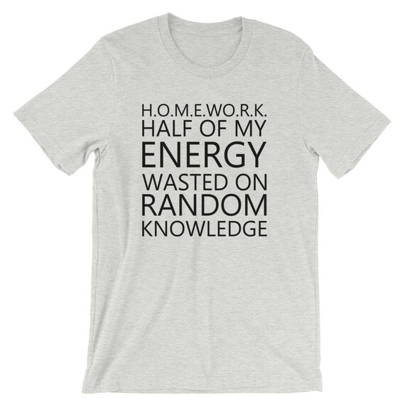 homework acronym