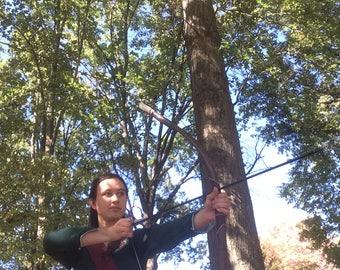 Susan's Green Archery Dress