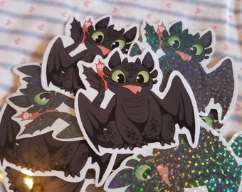 Toothless stickers