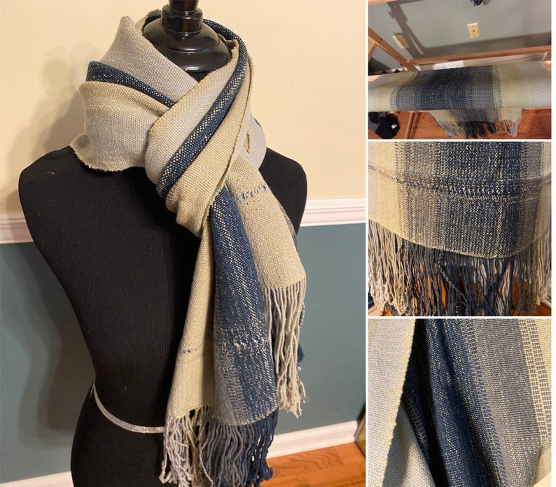 Sand and Sea Wrap WEAVING PATTERN for Rigid Heddle Loom PDF image 1
