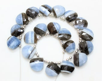 15 Pieces natural BLACK SUNSTONE Faceted Long 34 to 44 MM Teardrop shape briolettes loose gemstone bedas,natural gemstone for jewelry,