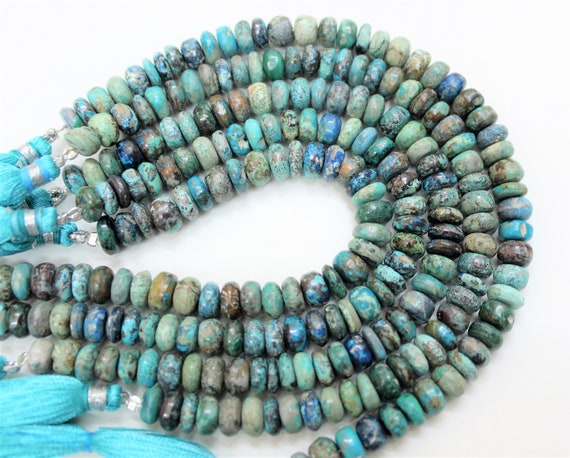 """5x8mm Natural Smooth Beautiful Opal Rondelle Gemstone Loose Beads 15/"""" AAA"""