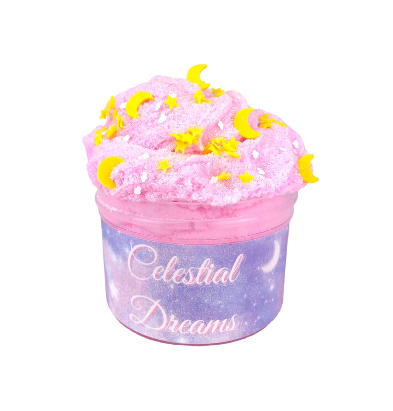 Celestial Dreams  Fluffy Cloud Creme Slime  Slime Shop  image 0