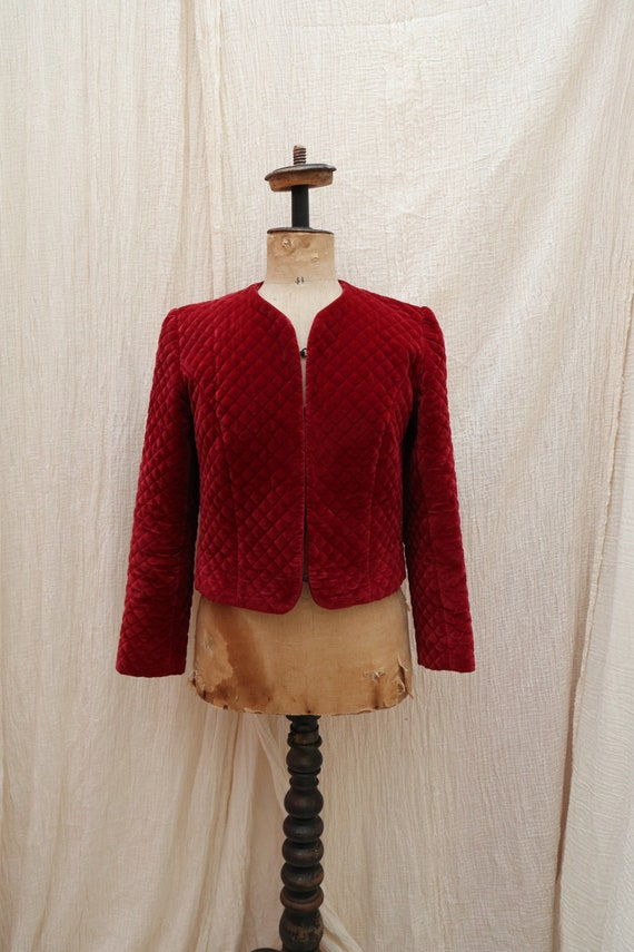 Vintage velvet jacket / Vintage velvet blazer